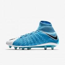 Nike hypervenom phantom 3 df ag_pro para hombre azul foto/blanco/azul cloro/negro_567