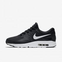 Nike air max zero essential para hombre negro/gris oscuro/blanco_653