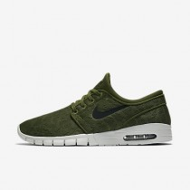 Nike sb stefan janoski max para hombre verde legión/platino puro/negro_667