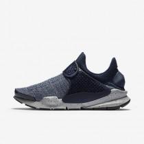 Nike sock dart se premium para hombre azul marino medianoche/rojo universitario/gris lobo/azul marino medianoch_683