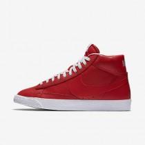 Nike blazer mid premium 09 para hombre rojo juego/negro/marrón claro goma/blanco_743