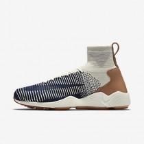 Nike zoom mercurial flyknit para hombre vela/gris pálido/marrón medio goma/azul marino universitario_750