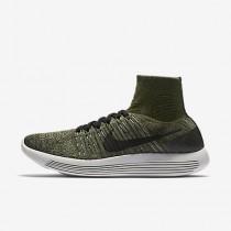 Nike lunarepic flyknit para hombre verde puro/verde mica/verde palmera/negro_762