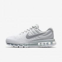 Nike air max 2017 para mujer platino puro/blanco/blanco cáscara de huevo/gris lobo_012