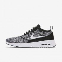 Nike air max thea flyknit para mujer negro/blanco_024