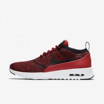 Nike air max thea flyknit para mujer rojo universitario/blanco/negro/negro_027