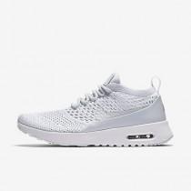 Nike air max thea flyknit para mujer platino puro/blanco/gris lobo/platino puro_028