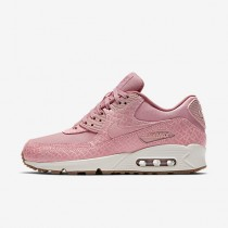 Nike air max 90 premium para mujer rosa vidrio/vela/rojo nebulosa/rosa perla_032
