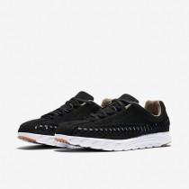 Nike mayfly woven para mujer negro/blanco/olmo/gris oscuro_045