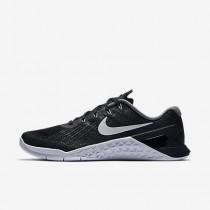 Nike metcon 3 para mujer negro/blanco_073