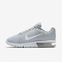 Nike air max sequent 2 para mujer platino puro/gris lobo/platino metalizado/blanco_096