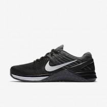 Nike metcon dsx flyknit para mujer negro/gris oscuro/blanco_104