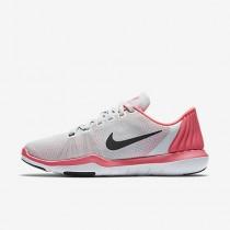 Nike flex supreme tr 5 para mujer platino puro/rosa carrera/gris lobo/negro_106