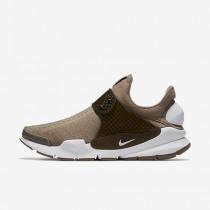 Nike sock dart para mujer caqui/caqui militar/blanco_124