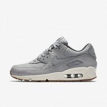 Nike air max 90 premium para mujer gris lobo/vela/niebla de medianoche/gris lobo_129