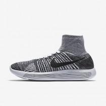 Nike lunarepic flyknit para mujer blanco/negro_153