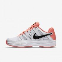 Nike court air vapor advantage para mujer blanco/lava resplandor/negro_180