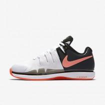 Nike court zoom vapor 9.5 tour clay para mujer blanco/negro/hipernaranja_184