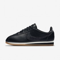 Nike classic cortez leather lux para mujer negro/vela/marrón medio goma/negro_269