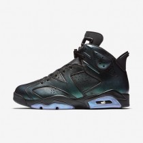 Nike air jordan 6 retro para hombre negro/blanco/negro_067