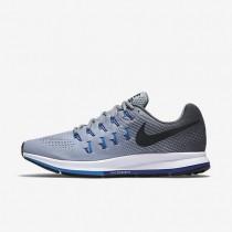 Nike air zoom pegasus 33 para hombre gris lobo/gris oscuro/azul foto/negro_085