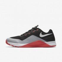 Nike metcon repper dsx para hombre negro/gris lobo/carmesí brillante/blanco_093