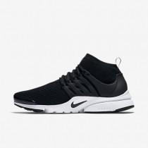 Nike air presto ultra flyknit para hombre negro/blanco/verde eléctrico/negro_133