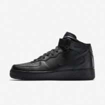 Nike air force 1 mid 07 para hombre negro/negro/negro_151