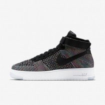 Nike air force 1 ultra flyknit para hombre negro/rosa intenso/blanco/negro_197