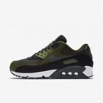 Nike air max 90 premium para hombre negro/verde legión/verde palmera/antracita_198