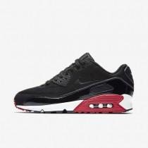 Nike air max 90 essential para hombre negro/rojo gimnasio/blanco/negro_208