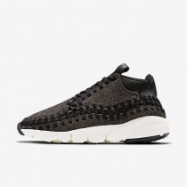 Nike air footscape woven chukka se para hombre negro/marfil/negro_213