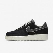 Nike air force 1 07 lv8 para hombre negro/vela/gris oscuro_224