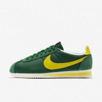 Nike classic cortez nylon aw para hombre verde pino/vela_234