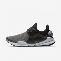 Nike sock dart se premium para hombre gris oscuro/platino puro/aluminio/negro_253