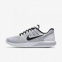 Nike lunarglide 8 para hombre blanco/negro_337