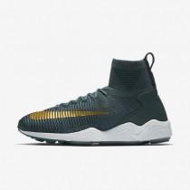 Nike zoom mercurial flyknit para hombre zorro azul/azul marino universitario/blanco/moneda de oro metalizado_360