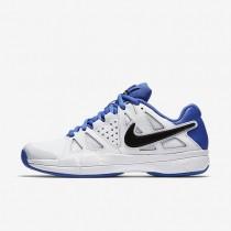 Nike court air vapor advantage para hombre blanco/azul medio/negro/negro_454