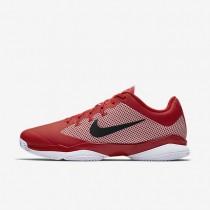 Nike court air zoom ultra clay para hombre rojo universitario/blanco/negro_460