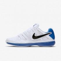 Nike court air vapor advantage para hombre blanco/azul foto claro/negro_491