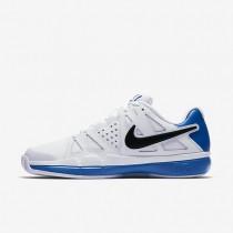 Nike court air vapor advantage clay para hombre blanco/azul foto claro/negro_495