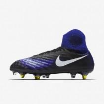 Nike magista obra sg_pro anti clog traction para hombre negro/azul extraordinario/aluminio/blanco_519