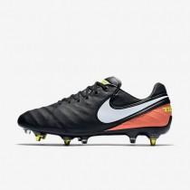 Nike tiempo legend vi sg_pro anti clog traction para hombre negro/hipernaranja/voltio/blanco_543