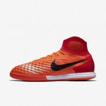 Nike magistax proximo ii ic para hombre carmesí total/rojo universitario/rosa atómico/negro_576