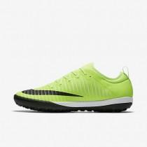 Nike mercurialx finale ii tf para hombre lima flash/blanco/marrón claro goma/negro_593