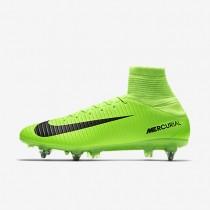 Nike mercurial veloce iii sg_pro para hombre verde eléctrico/lima flash/blanco/negro_615