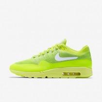 Nike air max 1 ultra flyknit para hombre voltio/verde eléctrico/blanco_622