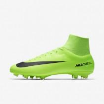 Nike mercurial victory vi dynamic fit fg para hombre verde eléctrico/lima flash/blanco/negro_643