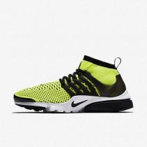 Nike air presto ultra flyknit para hombre voltio/blanco/negro_649