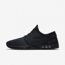 Nike sb stefan janoski max para hombre negro/negro_666
